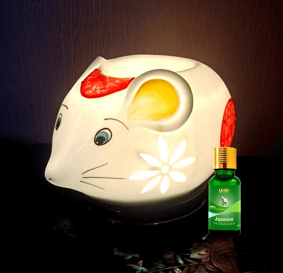đèn xông hình chuột